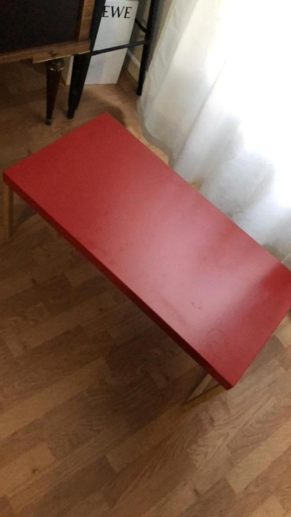 Recyclage, Récupe & Don d'objet : banc et une table basse