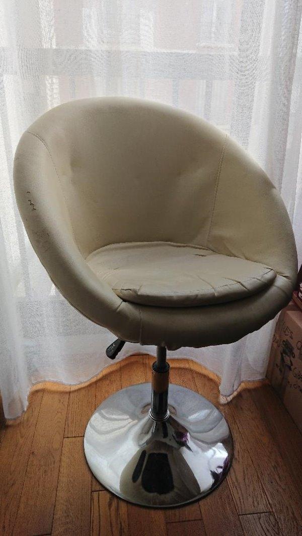 Recyclage, Récupe & Don d'objet : fauteuil pivotant design