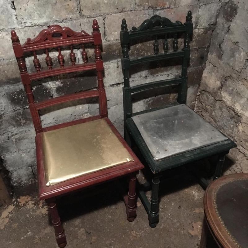 Recyclage, Récupe & Don d'objet : chaises anciennes