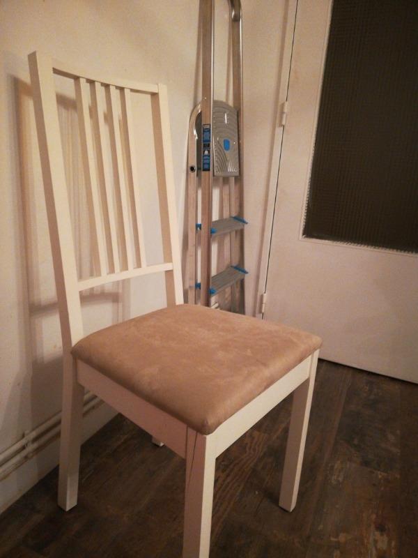 Recyclage, Récupe & Don d'objet : chaise de salon