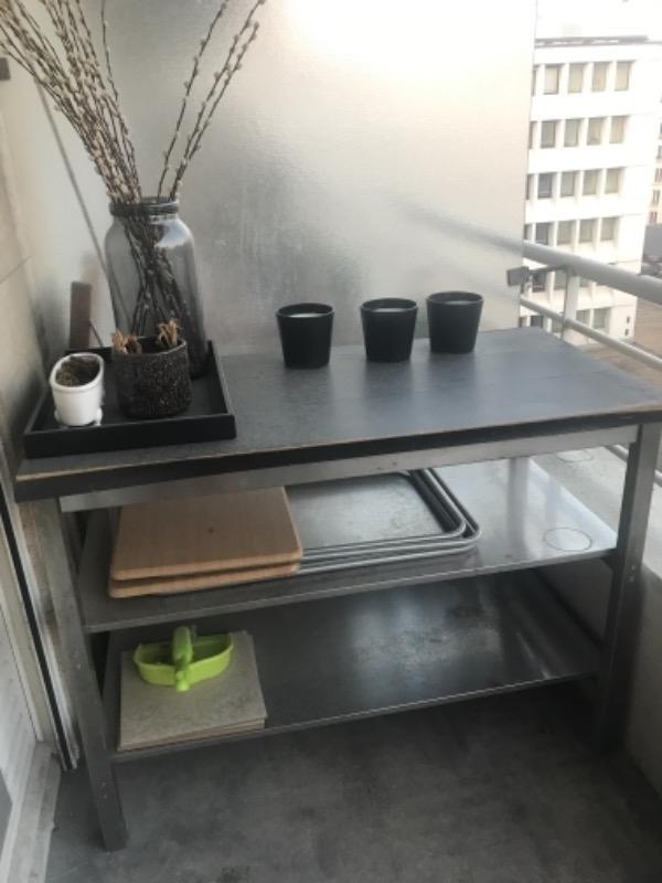 Recyclage, Récupe & Don d'objet : desserte de cuisine ikea