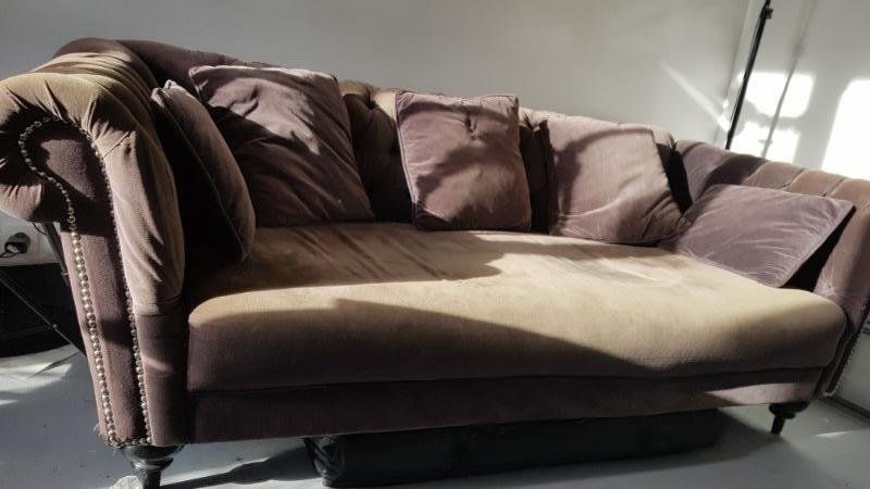 Recyclage, Récupe & Don d'objet : canape chesterfield