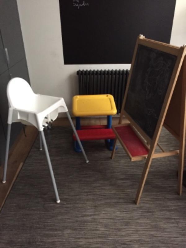 Recyclage, Récupe & Don d'objet : mobilier pour enfant