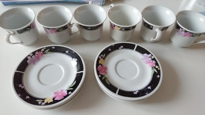 Recyclage, Récupe & Don d'objet : tasses et soucoupes