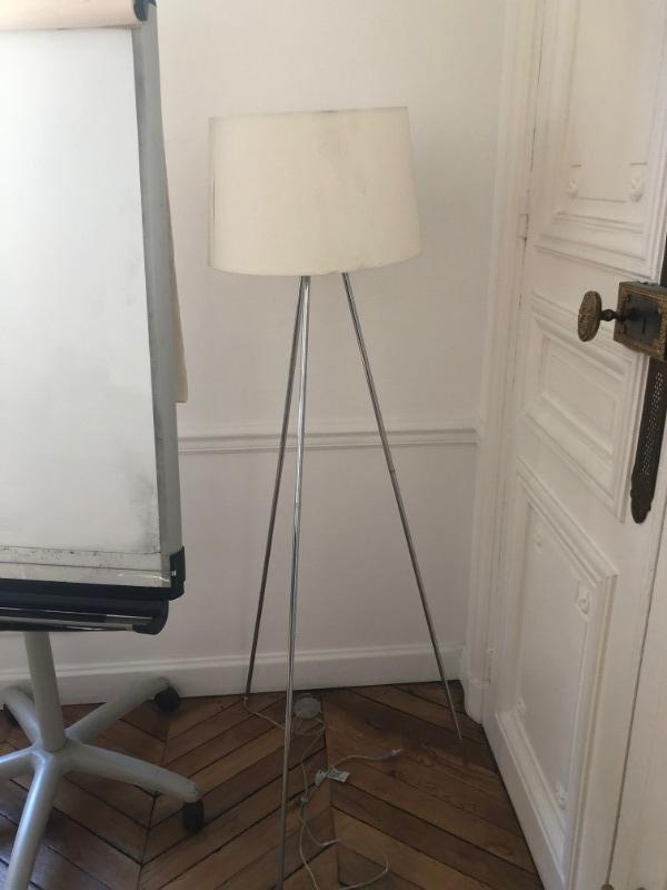 Recyclage, Récupe & Don d'objet : lampe haute