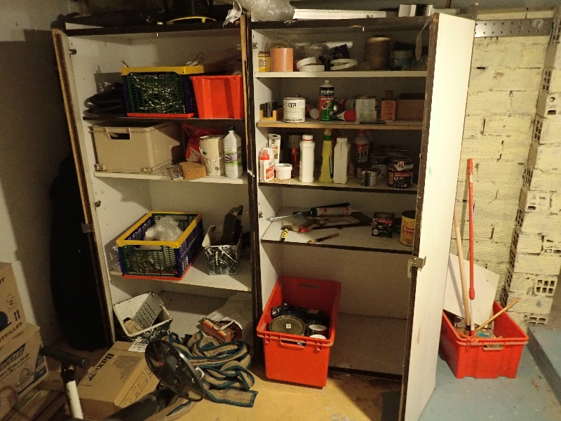 Recyclage, Récupe & Don d'objet : armoire à bricolage