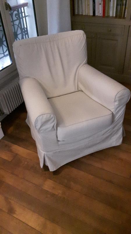 Recyclage, Récupe & Don d'objet : fauteuil ikea gronlid