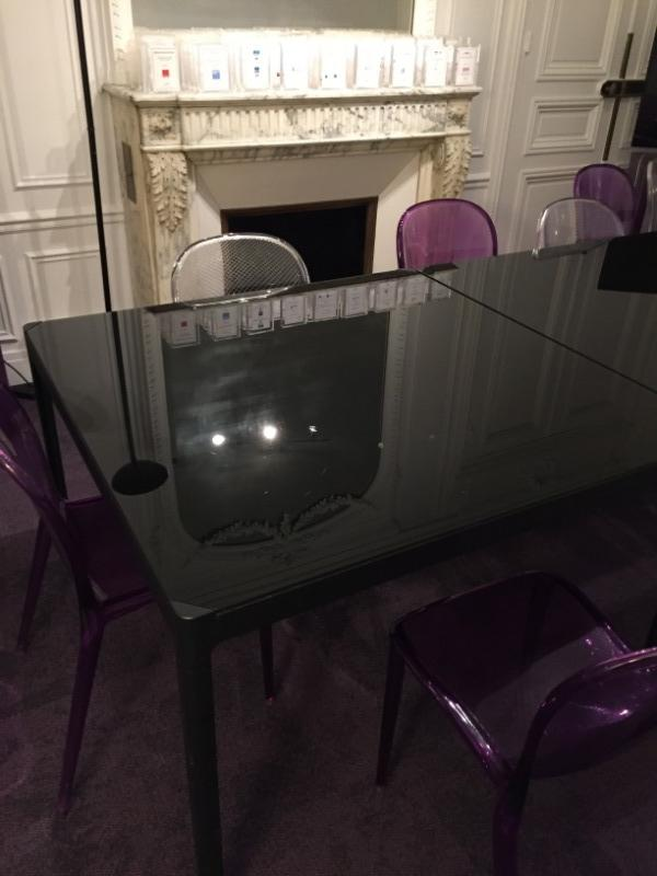 Recyclage, Récupe & Don d'objet : table ikea plateau en verre