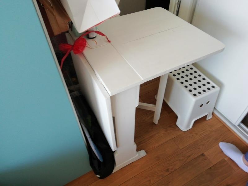 Recyclage, Récupe & Don d'objet : petite table pliante