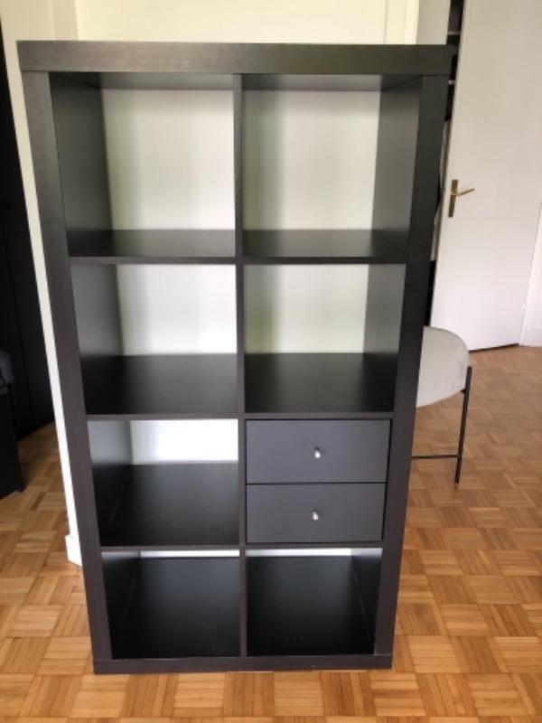 Recyclage, Récupe & Don d'objet : armoire ouverte ikea 78 x 150  x 40