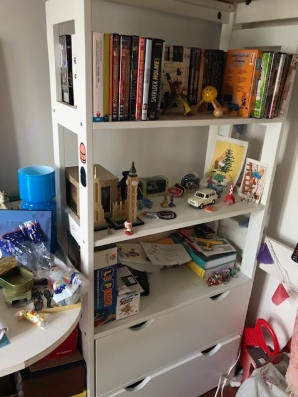 Recyclage, Récupe & Don d'objet : petite étagère chambre enfant