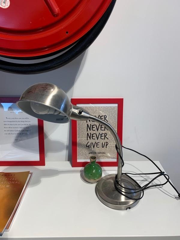 Recyclage, Récupe & Don d'objet : lampe de bureaux