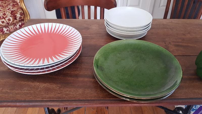Recyclage, Récupe & Don d'objet : assiettes