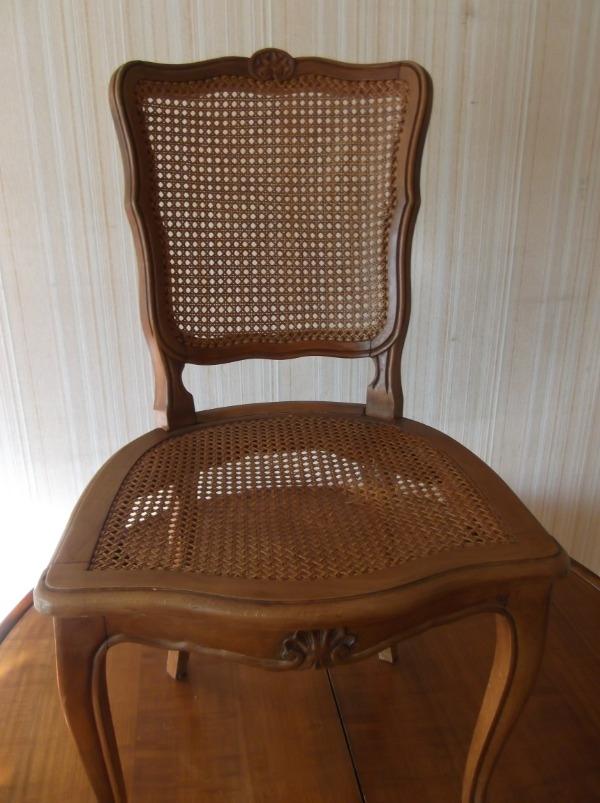 Recyclage, Récupe & Don d'objet : 1 chaise tressée