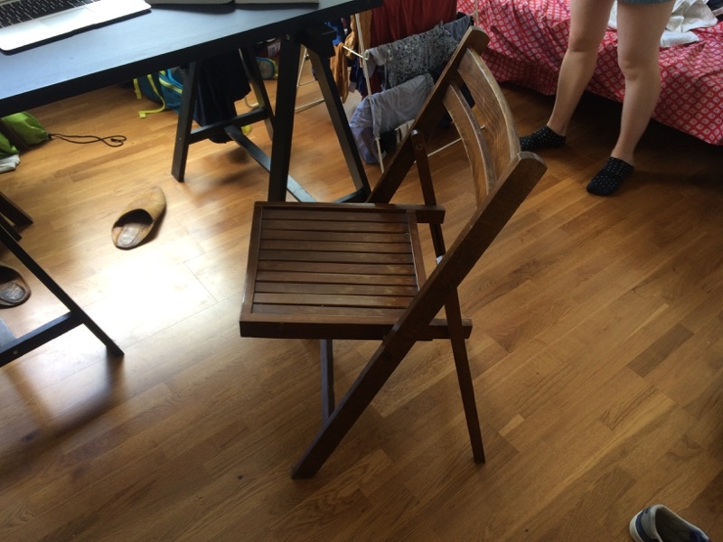 Recyclage, Récupe & Don d'objet : chaises x 2