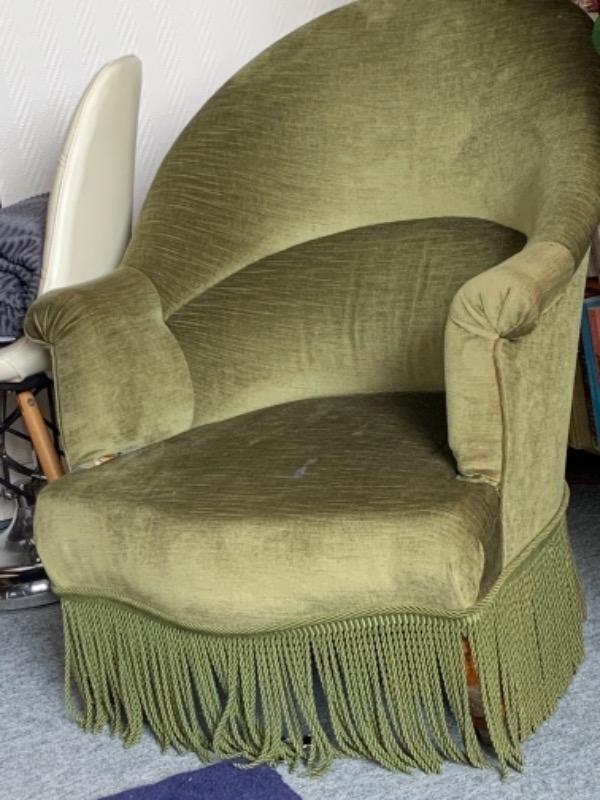 Recyclage, Récupe & Don d'objet : fauteuil crapaud