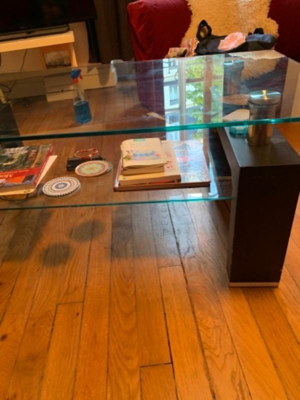Recyclage, Récupe & Don d'objet : table basse salon