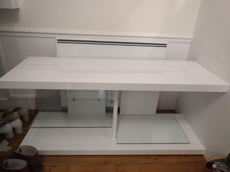 Recyclage, Récupe & Don d'objet : meuble bas (dessous télé)