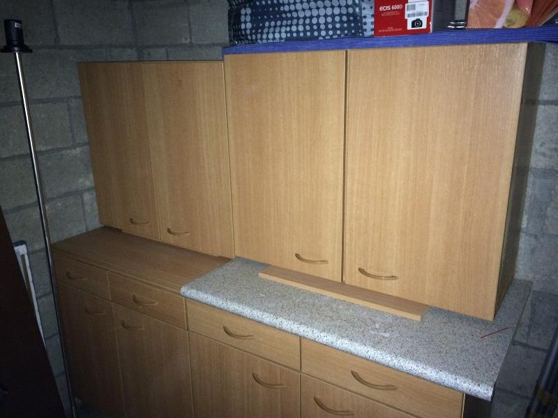 Recyclage, Récupe & Don d'objet : 2 meubles haut cuisine