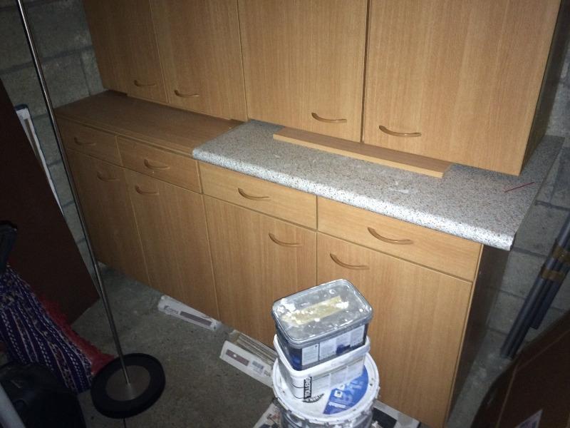 Recyclage, Récupe & Don d'objet : 2 meubles bas cuisine