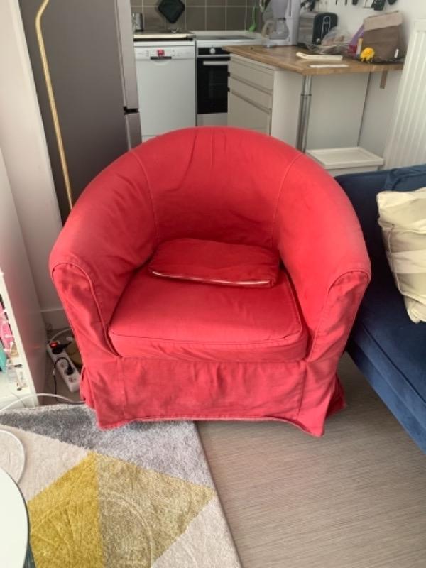 Recyclage, Récupe & Don d'objet : petit fauteuil