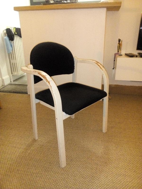 Recyclage, Récupe & Don d'objet : chaise de bureau ikea avec accoudoirs