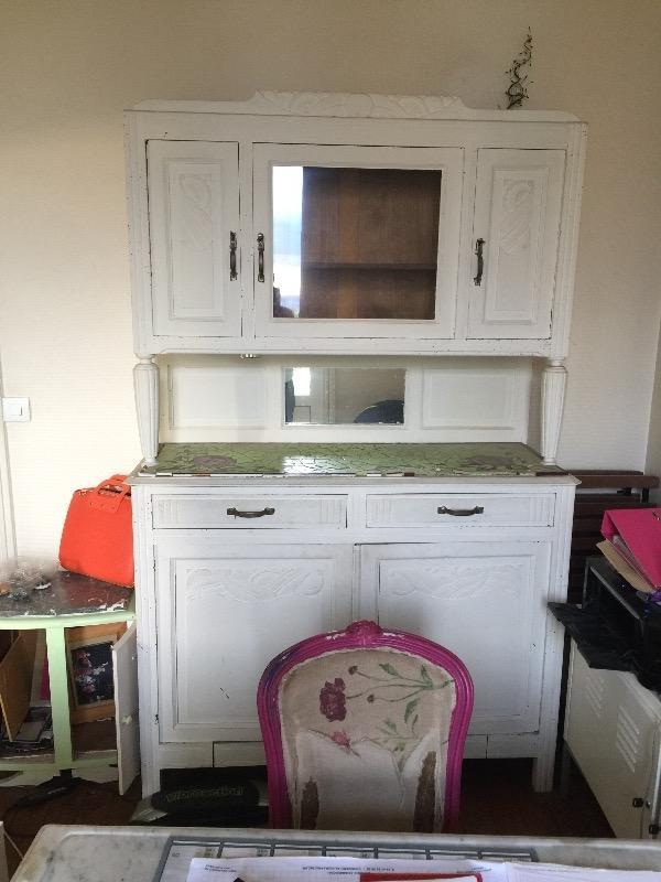 Recyclage, Récupe & Don d'objet : meuble vaisselier
