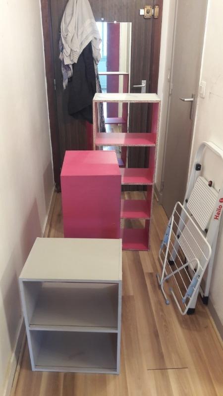 Recyclage, Récupe & Don d'objet : meuble cube de rangement