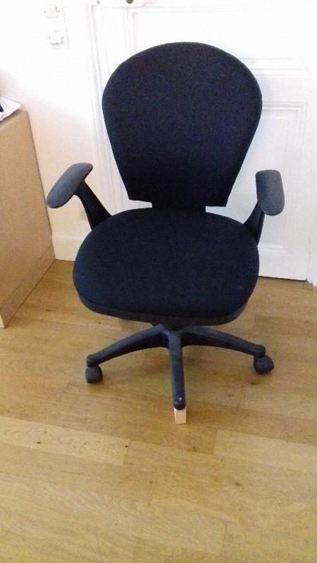 Recyclage, Récupe & Don d'objet : fauteuil de bureau à roulettes
