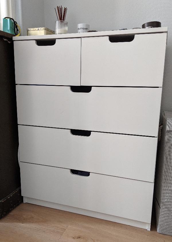 Recyclage, Récupe & Don d'objet : commode à tiroirs