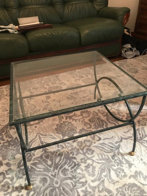 Recyclage, Récupe & Don d'objet : une table en verre