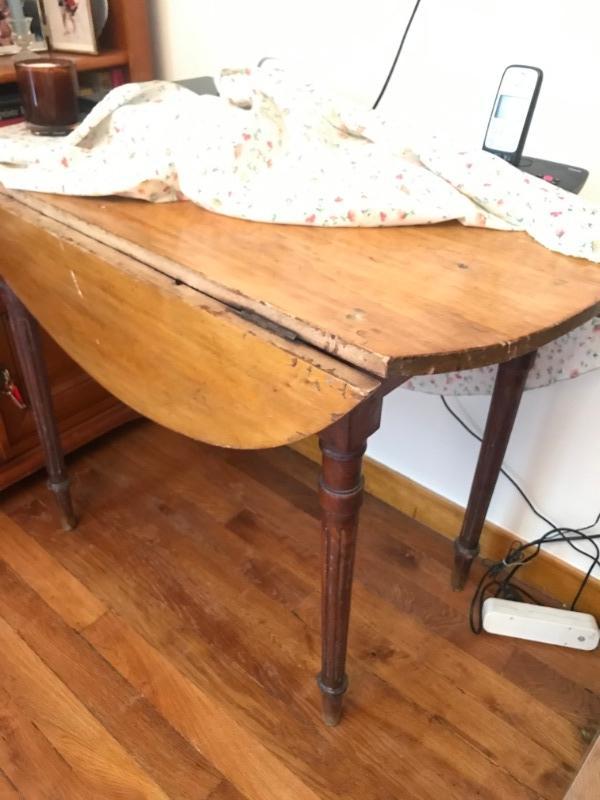 Recyclage, Récupe & Don d'objet : une table en bois