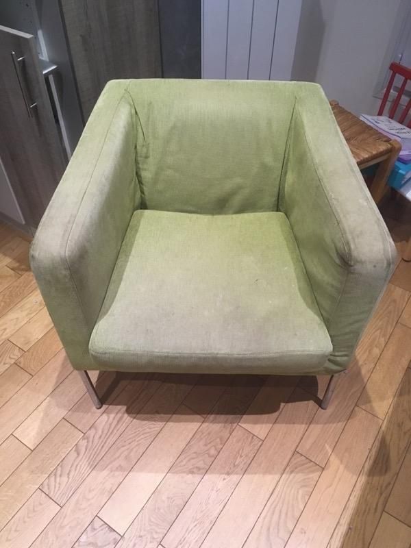Recyclage, Récupe & Don d'objet : fauteuil