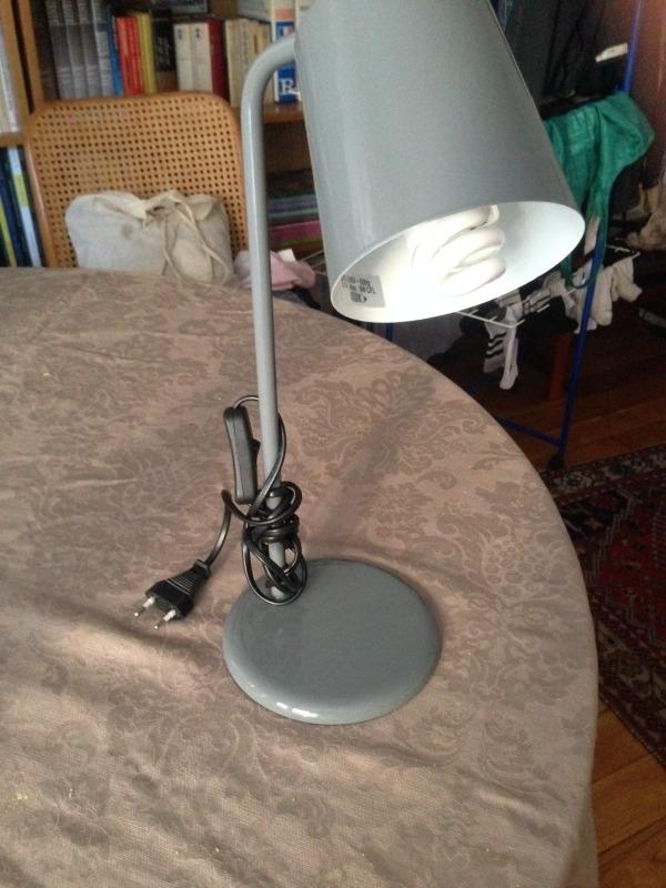 Recyclage, Récupe & Don d'objet : lampe de bureau