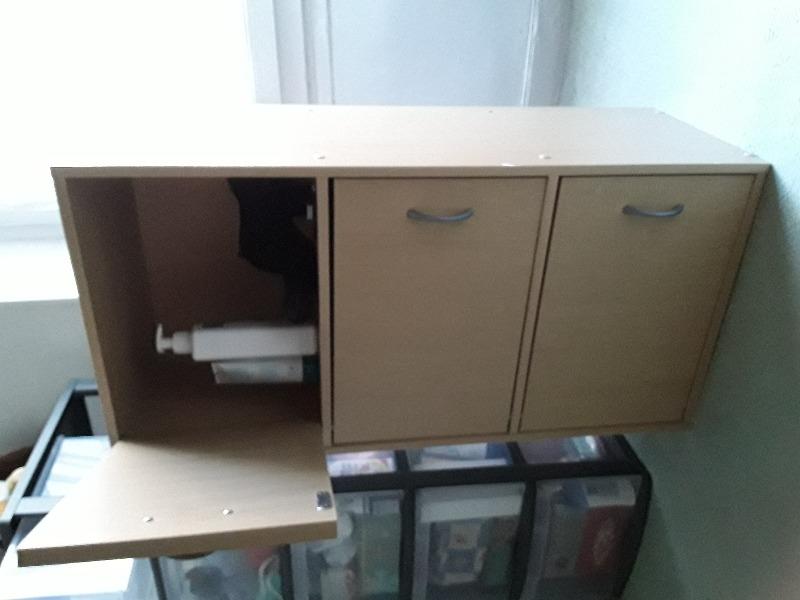 Recyclage, Récupe & Don d'objet : petit placard 3 portes