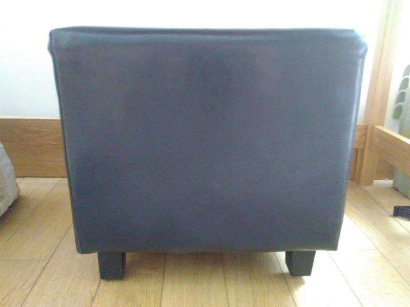 Recyclage, Récupe & Don d'objet : tabouret pouf cube