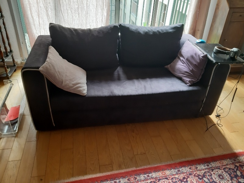 Recyclage, Récupe & Don d'objet : canapé lit