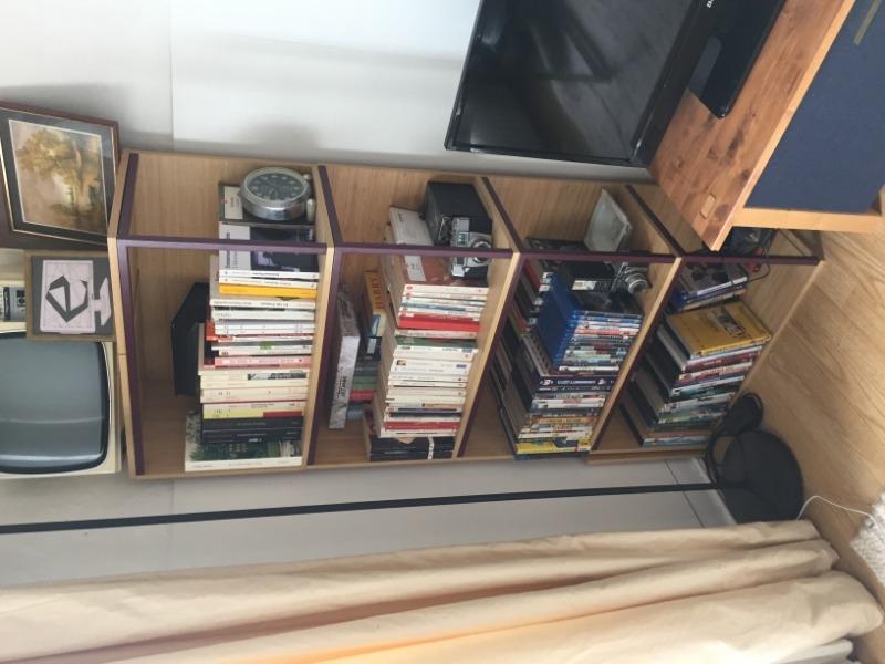Recyclage, Récupe & Don d'objet : petite bibliothèque en cube