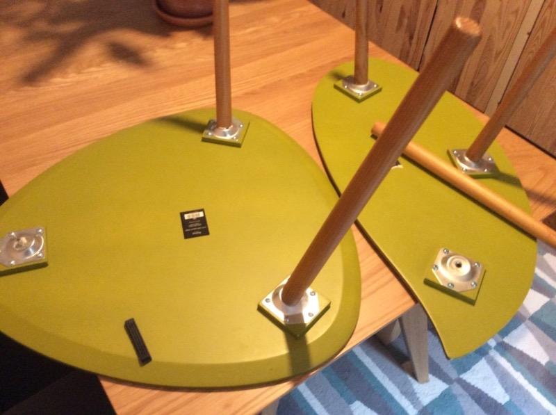 Recyclage, Récupe & Don d'objet : tables basses gigognes x 2