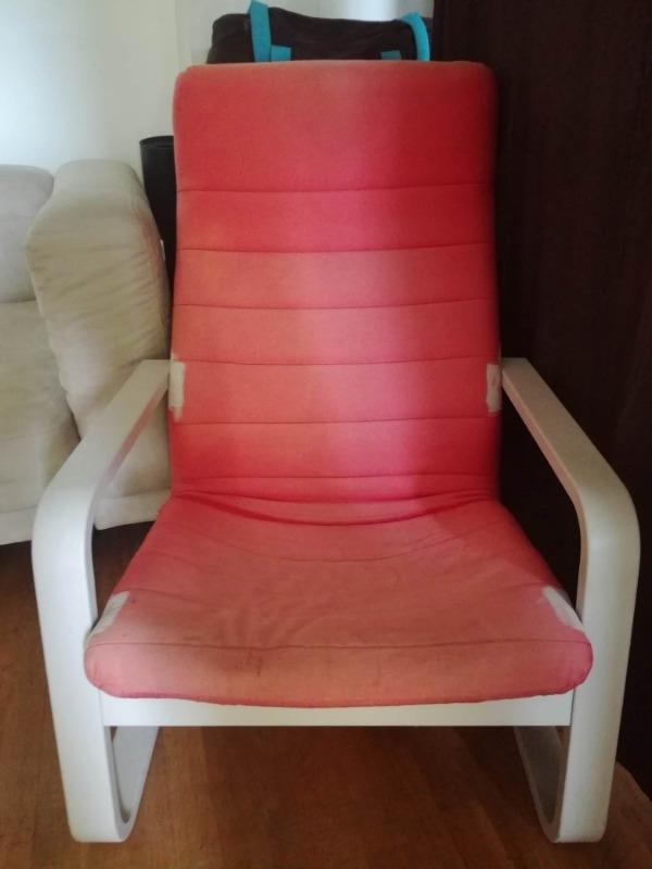 Recyclage, Récupe & Don d'objet : fauteuil de salon