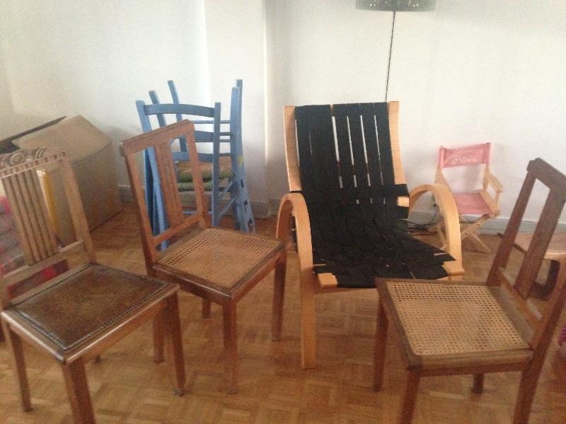 Recyclage, Récupe & Don d'objet : chaisses et fauteuil