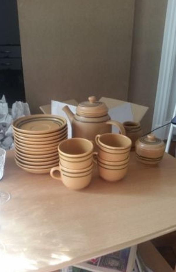 Recyclage, Récupe & Don d'objet : service à thé