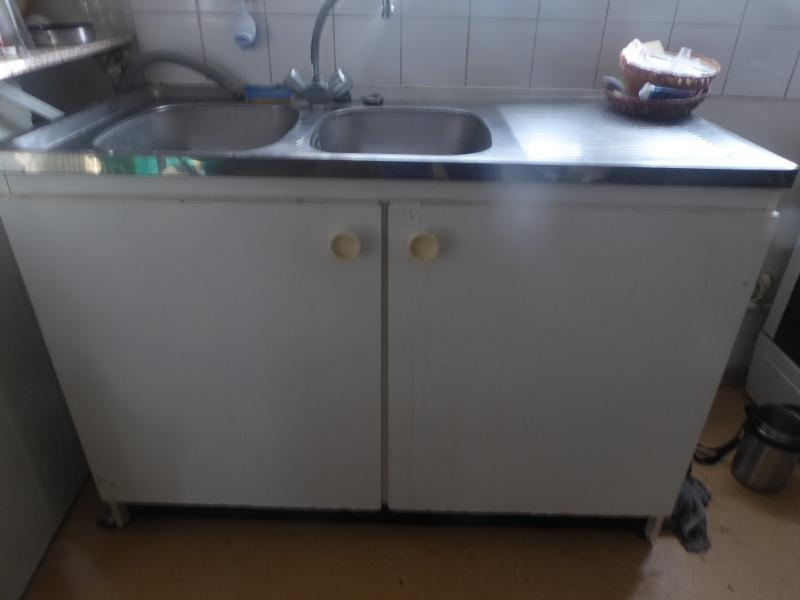 Recyclage, Récupe & Don d'objet : évier et sous meuble