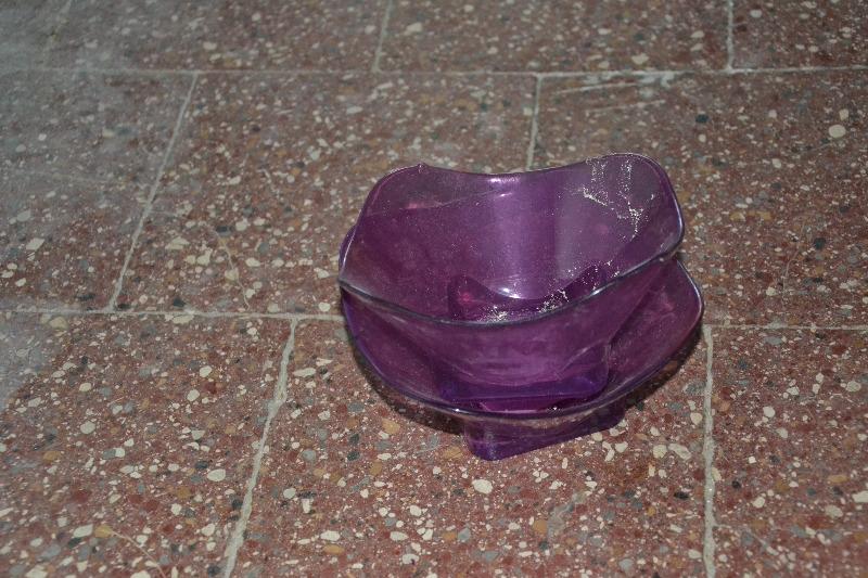 Recyclage, Récupe & Don d'objet : 2 coupes en verre