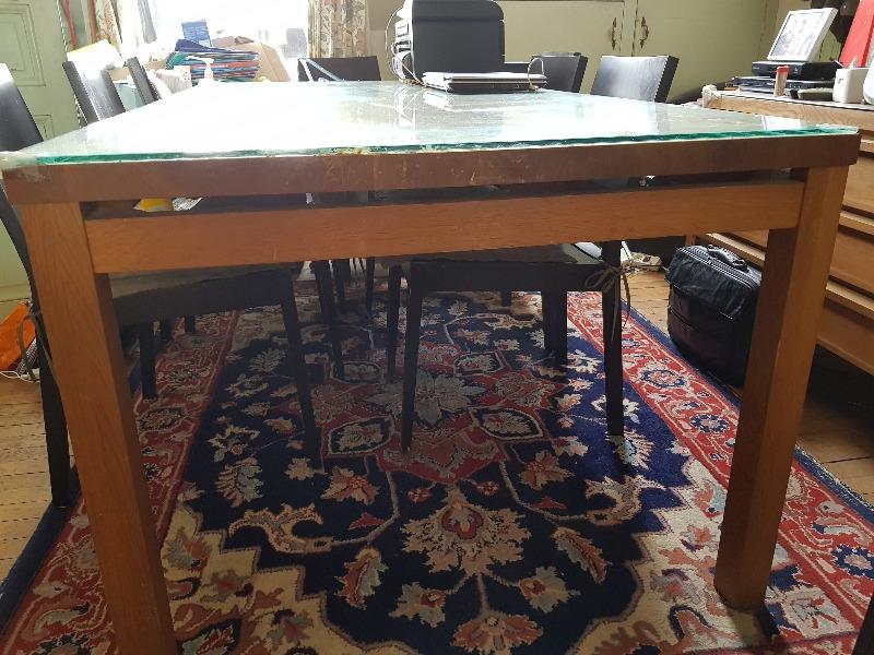 Recyclage, Récupe & Don d'objet : grande table de salle à manger