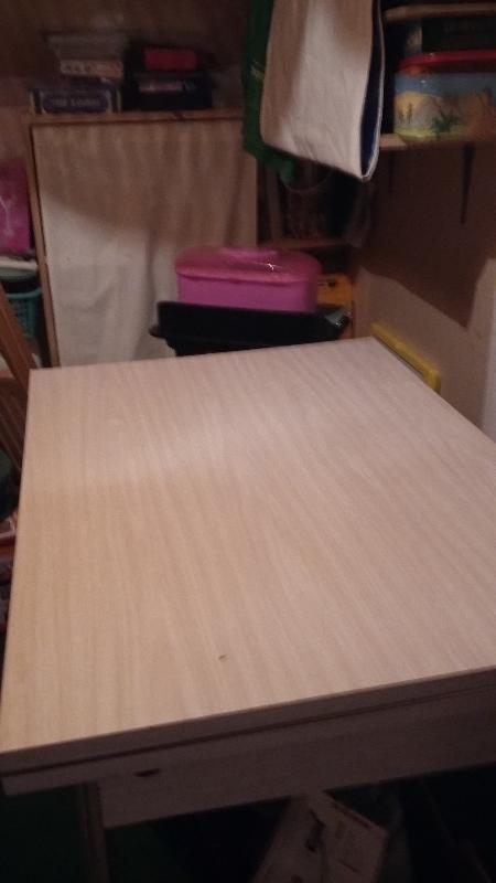 Recyclage, Récupe & Don d'objet : table formica