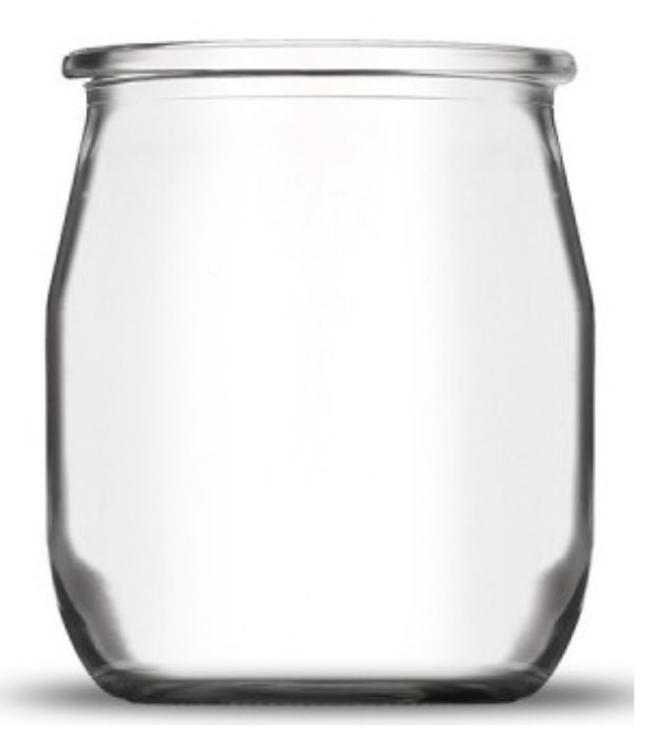 Recyclage, Récupe & Don d'objet : pots de yaourt vides en verre