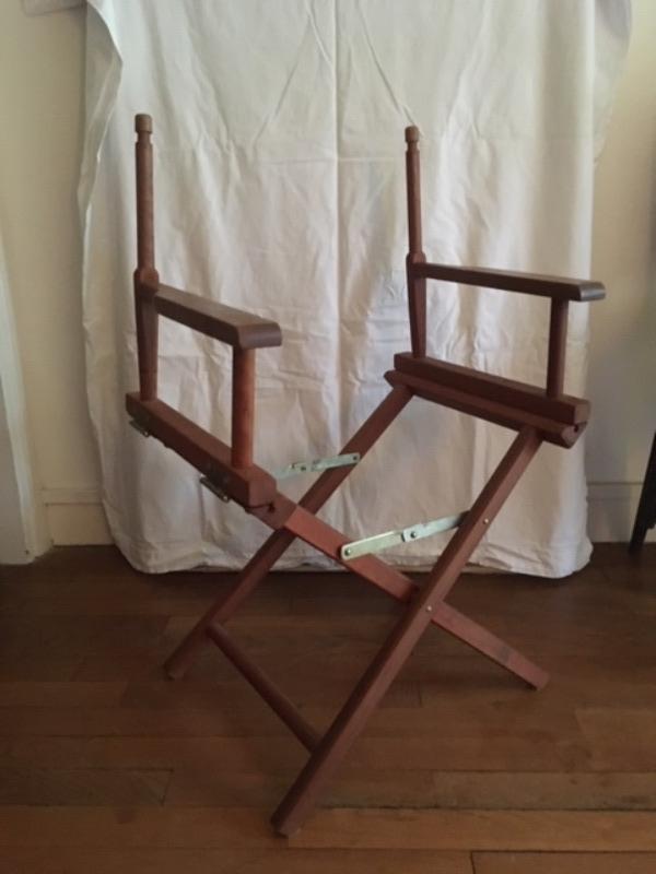 Recyclage, Récupe & Don d'objet : chaise cinéma