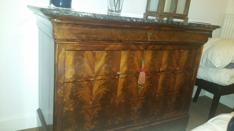 Recyclage, Récupe & Don d'objet : commode ancienne 5 tiroirs