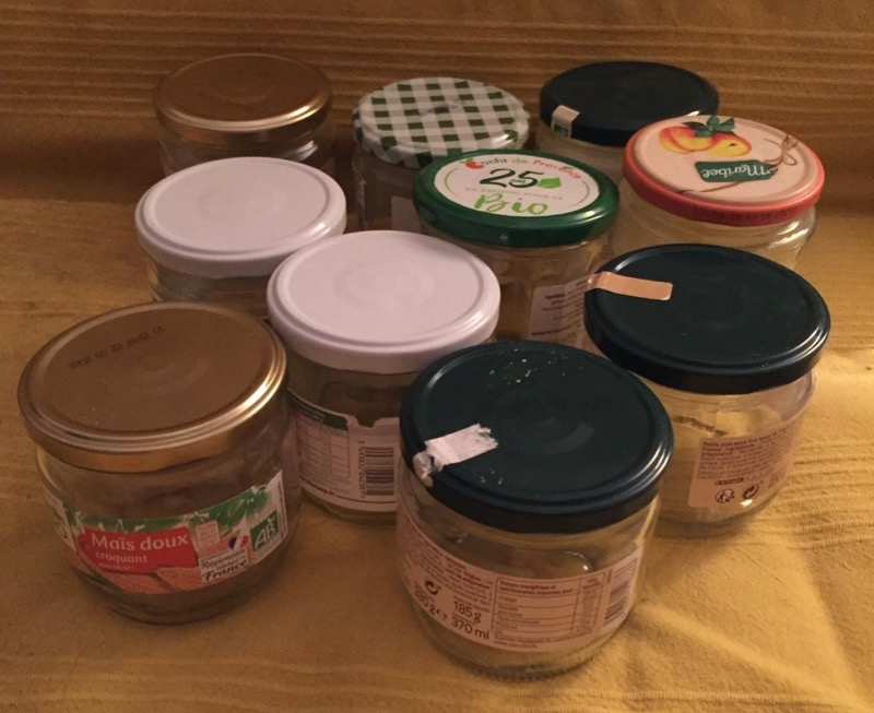 Recyclage, Récupe & Don d'objet : 1 lot de bocaux